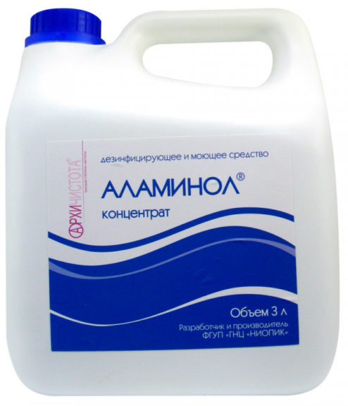 Аламинол 3л – дезинфицирующее средство