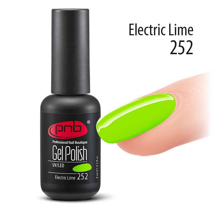 Гель-лак PNB (Electric Lime) 8 мл